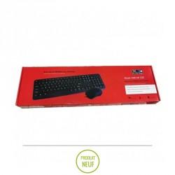 Kit clavier et souris USB Luxor KMC-06