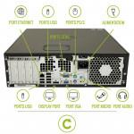 PC de table i5 HP Elite 8100/8200