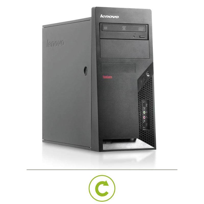 Ordinateur Reconditionne Tour Core 2 Duo Lenovo